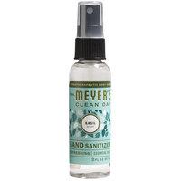 Mrs. Meyer's 300316 Clean Day 2 oz. Basil Hand Sanitizer - 12/Case