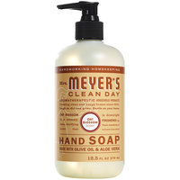 Mrs. Meyer's Clean Day 313535 12.5 oz. Oat Blossom Scented Hand Soap with Pump - 6/Case