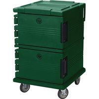 Cambro UPC1200519 Kentucky Green Camcart Ultra Pan Carrier - Front Load