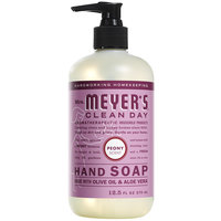 Mrs. Meyer's Clean Day 663384 12.5 oz. Peony Scented Hand Soap with Pump - 6/Case