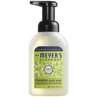 Mrs. Meyer's Clean Day 662032 10 oz. Lemon Verbena Foaming Hand Soap - 6/Case