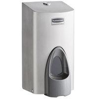 Rubbermaid 1853755 800 mL Stainless Steel Manual Foam Soap Dispenser