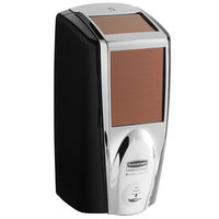 Rubbermaid 1980826 Lumecel™ 1100 mL Black / Chrome Automatic Hands Free Soap Dispenser