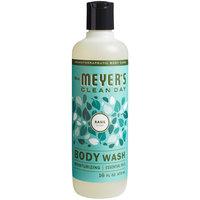 Mrs. Meyer's 688233 16 oz. Basil Body Wash - 6/Case