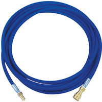 Sandia 80-0502 Sniper 25' Solution Hose Assembly with 1/4 inch Female and Male Quick Disconnects for 12 Gallon Carpet Extractors