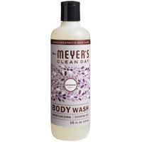 Mrs. Meyer's 688231 16 oz. Lavender Body Wash - 6/Case