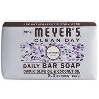 Mrs. Meyer's 663363 5.3 oz. Lavender Soap Bar - 12/Case