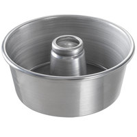Chicago Metallic 46550 9 1/2 inch Aluminum Customizable Angel Food Cake Pan - 4 inch Deep