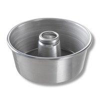 Chicago Metallic 46550 9 1/2 inch Aluminum Angel Food Cake Pan - 4 inch Deep