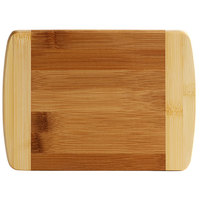Tablecraft HBB85 8 inch x 5 3/4 inch x 1/2 inch Bamboo Bar Size Cutting Board
