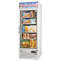 Turbo Air TGF-23F White 27 inch Glass Door Merchandising Freezer