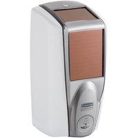 Rubbermaid 1980828 Lumecel™ 1100 mL White / Grey Pearl Automatic Hands Free Soap Dispenser