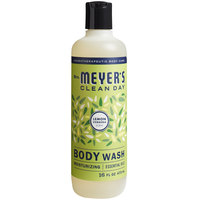 Mrs. Meyer's 688232 16 oz. Lemon Verbena Body Wash - 6/Case