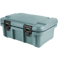 Cambro UPC160401 Camcarrier Ultra Pan Carrier® Slate Blue Top Loading 6 inch Deep Insulated Food Pan Carrier