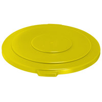 Rubbermaid Brute FG265400YEL Yellow 55 Gallon Trash Can Lid