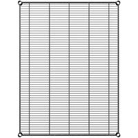 Regency 36 inch x 48 inch NSF Black Epoxy Wire Shelf