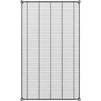 Regency 36 inch x 60 inch NSF Black Epoxy Wire Shelf