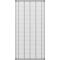Regency 36 inch x 72 inch NSF Black Epoxy Wire Shelf