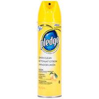 SC Johnson 95763074 Pledge 13.8 oz. Lemon Clean Institutional Formula Aerosol Furniture Spray