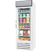 Beverage-Air MMR23HC-1-W-18-IQ MarketMax 27 inch White Refrigerated Glass Door Merchandiser with Left-Hinged Door and Electronic Smart Door Lock