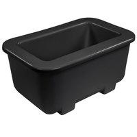 Carlisle CM104503 Coldmaster 1/3 Size Black Cold Food Pan Holder - 6 inch Deep