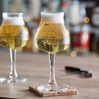Libbey 441246 AnDer 2.0 Customizable 13.75 oz. Tall Stemmed Beer Glass   - 12/Case