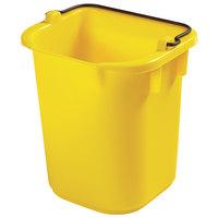 Rubbermaid 1857374 5 Qt. Yellow Heavy Duty Pail