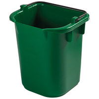 Rubbermaid 1857377 5 Qt. Green Heavy Duty Pail