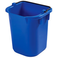 Rubbermaid 1857376 5 Qt. Blue Heavy Duty Pail