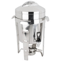 Vollrath 49525 11.6 Qt. Maximillian Steel Coffee Urn with Stainless Steel Accents