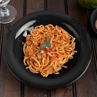 Carlisle 3303403 Sierrus 9 1/4 inch Black Melamine Pasta / Soup / Salad Bowl - 24/Case
