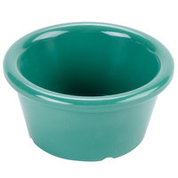 GET S-620-FG Diamond Mardi Gras 2 oz. Rainforest Green Melamine Ramekin - 48/Case