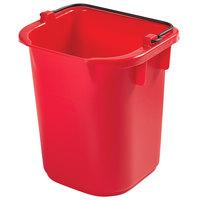 Rubbermaid 1857375 5 Qt. Red Heavy Duty Pail