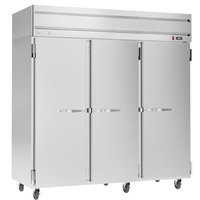 Beverage-Air HFP3HC-1S Horizon Series 78 inch Reach-In Freezer