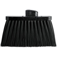 Carlisle 3685403 Duo-Sweep 11 inch Light Industrial Broom Head with Black Unflagged Bristles