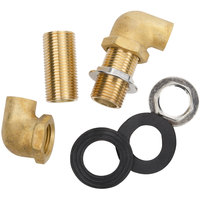 Wall Mount Sweat Faucet Installation Kit - 1/2 inch Inlet