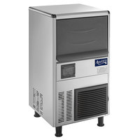 Avantco Ice UC-77-BA 16 inch Air Cooled Undercounter Bullet Ice Machine - 77 lb.