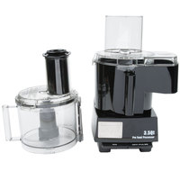 Waring WFP14SC Combination Continuous Feed Food Processor with 3.5 Qt. Bowl - 1 hp
