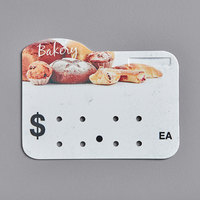 Bakery Molded Number Price Tag (Ea.) - 25/Pack