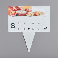 Bakery Molded Number Spear Price Tag (Ea.) - 25/Pack
