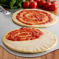 Rich's 10 inch Pre-Sheeted Proof and Bake Pizza Dough - 50/Case