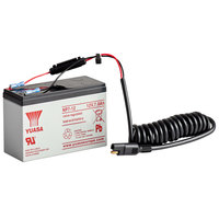 MotorScrubber MSPRO6 12V 22AH Battery for MSPROWASH ProWash Floor and Wall Scrubber