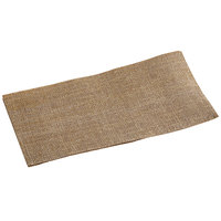 Hoffmaster FP1206 FashnPoint 8 inch x 4 inch Burlap Print Guest Towel - 150/Pack