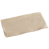 Hoffmaster 856787 12 inch x 17 inch Linen-Like Natural Kraft Guest Towel - 125/Pack