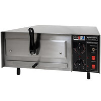 Benchmark USA 54016 Stainless Steel Countertop Pizza / Snack Oven with 16 inch Opening - 120V, 1750W