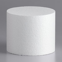 6 inch x 5 inch Foam Round Cake Dummy
