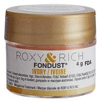 Roxy & Rich 4 Gram Ivory Fondust Hybrid Food Color