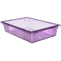 Carlisle 10621C89 StorPlus Purple Allergen-Free Food Storage Box - 26 inch x 18 inch x 6 inch