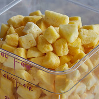 30 lb. IQF Chunks of Organic Pineapples