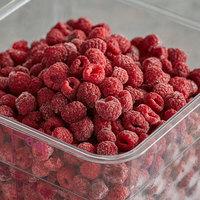 5.5 lb. IQF Organic Red Raspberries - 4/Case